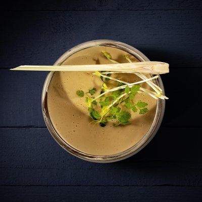 coconut miso soup