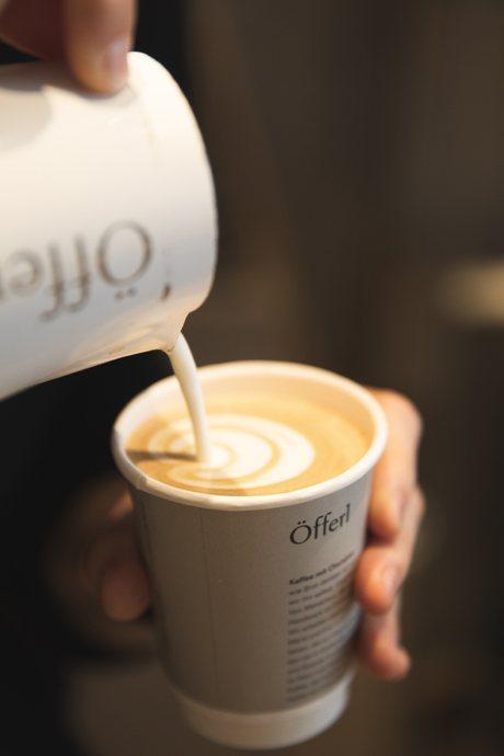 Öfferl Cappuccino zum Mitnehmen